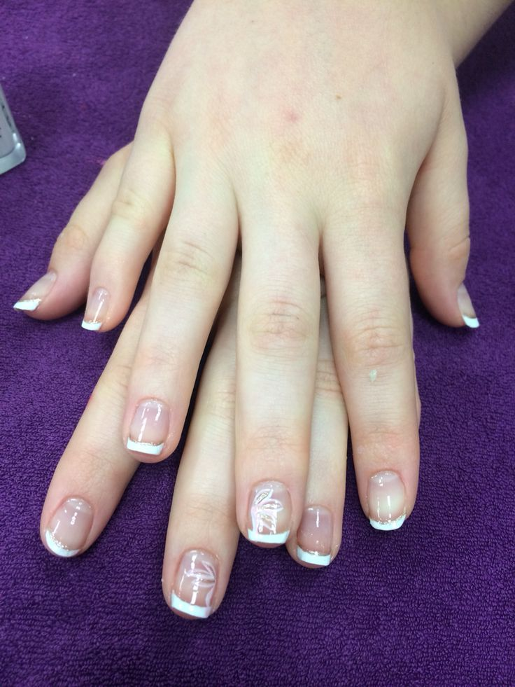 Ongle french blanche