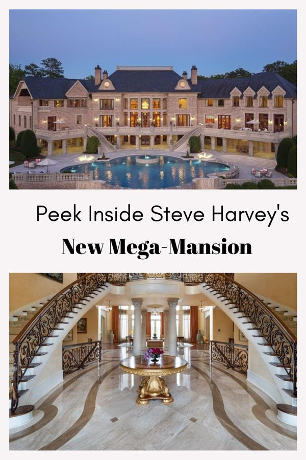 Steve Harvey Buys Tyler Perry S Versailles Inspired Atlanta Mansion For 15m Atlanta Mansions Mansions Steve Harvey