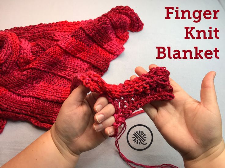Finger Knit Headband Free Craft Pattern In With Love Yarn