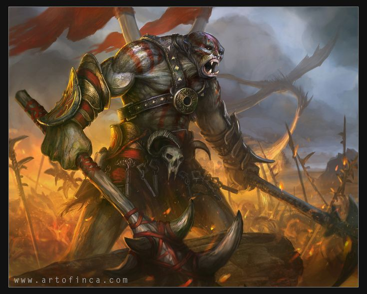 51 best Orcs images on Pinterest | Character art, Character design ...