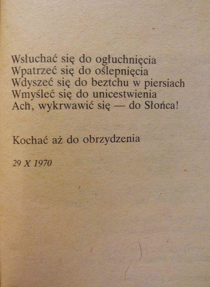 Rafał Wojaczek / Wierszyk Mironowi Białoszewskiemu