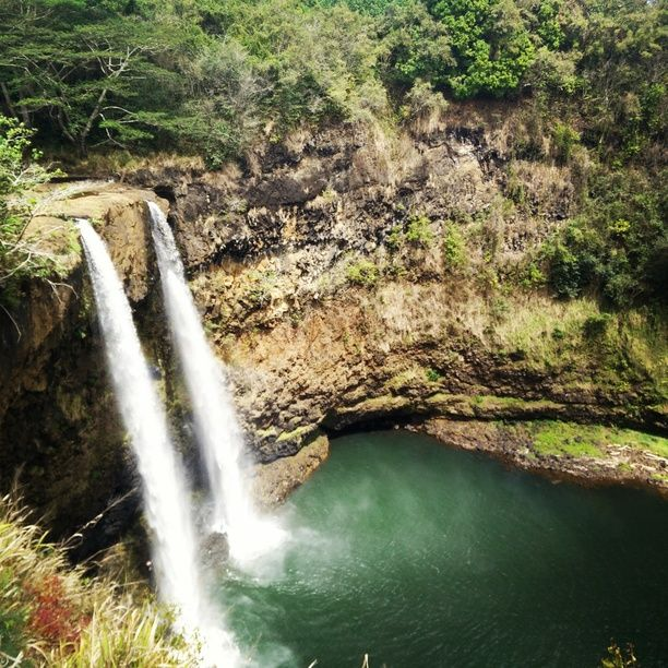 As soon as you land to Lihue Airport, make sure to visit the beautiful Wailua Falls!! (5-10 min from airport) I saw some spontaneous...