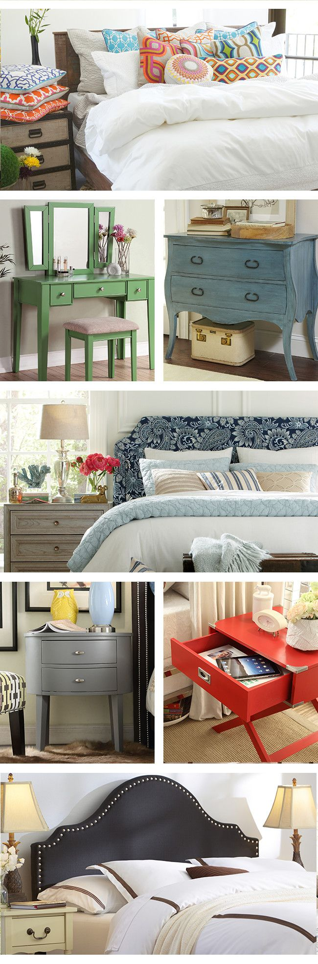 With our incredible selection of bedroom furniture like headboards, dressers, and armoires you can make your dream bedroom a reality. Visit Wayfair and sign up today to get access to exclusive deals everyday up to 70% off. Free shipping on all orders over $49.