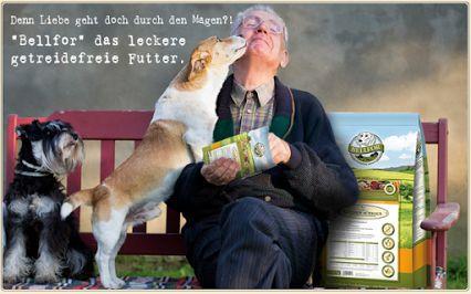Bellfor Hundefutter auf www.hundemarkt.ch