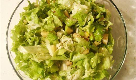 Portakallı Salata Tarifi / Marifetlitarifler'den yemek tarifleri