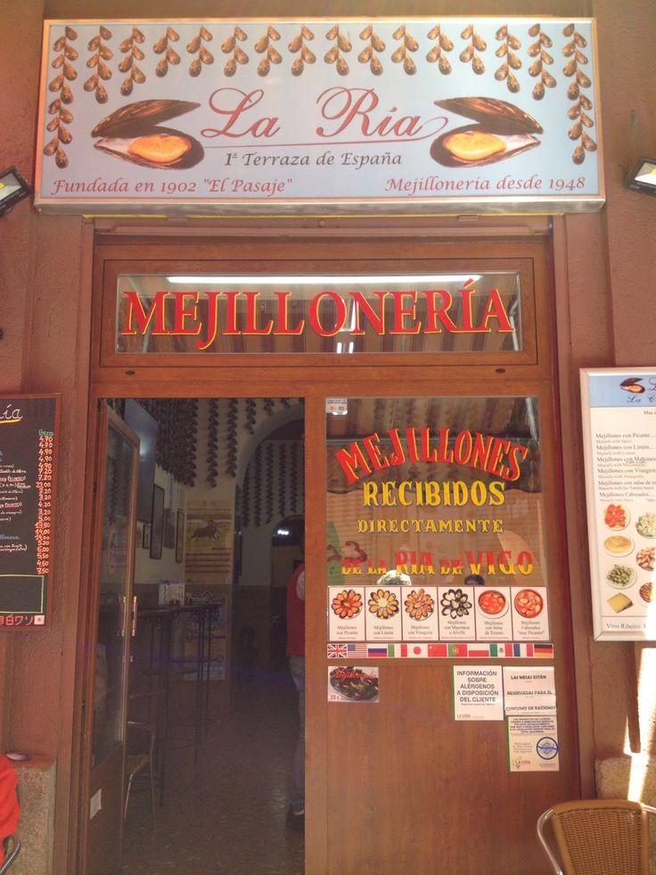 Mejillonería El Pasaje - La Ría - Pasaje de Matheu, 1 - Madrid
