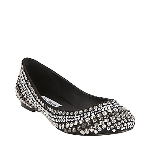 Steve Madden: Kuddos: black and silver