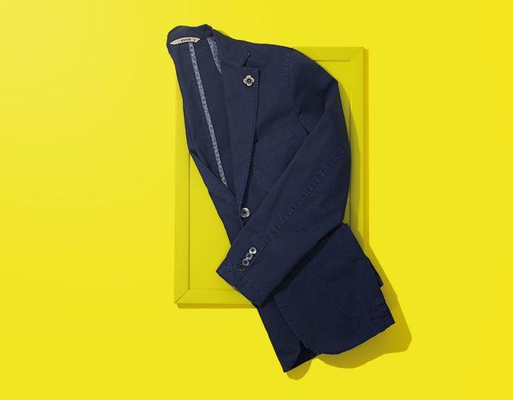 #Exigo P/E '16 - Collezione 2016 di #Giacche #uomo #man #madeinitaly #wear #spring #summer #arts #yellow #exigonow
