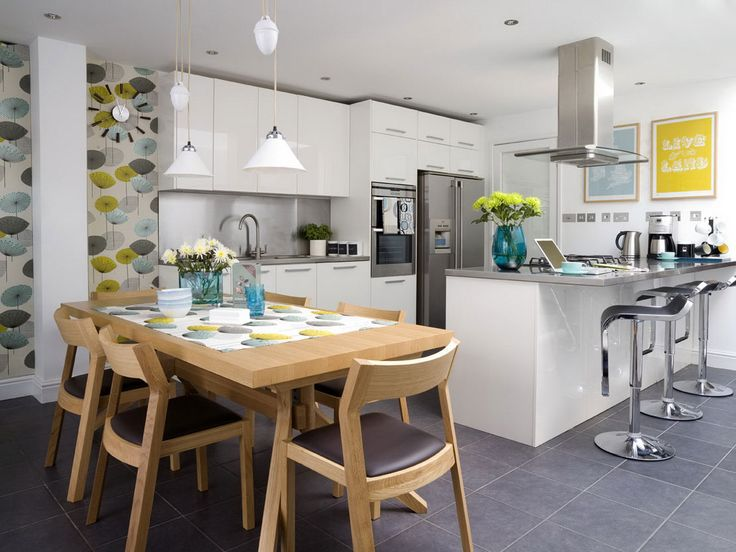 Open Concept Design Ideas love this white open kitchen concept the home touches yuu1y8c6 Small Open Concept Homes Home Interior The Open Kitchen Concept For Our Home Open Kitchen