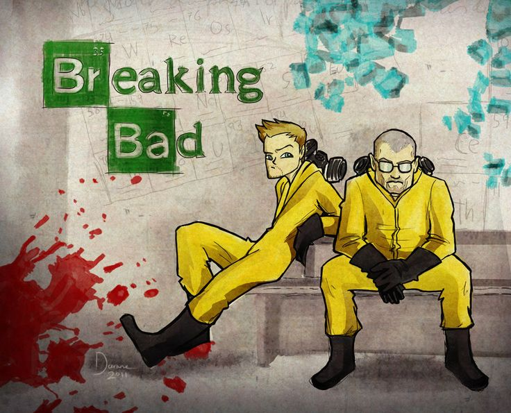 What does Breaking Bad have to do with Netflix? A lot, silly.
