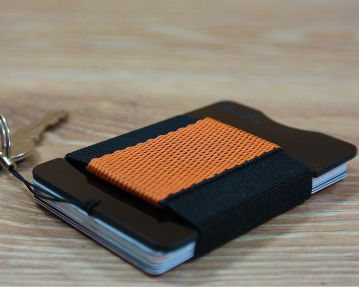 fr4™ minimalist G10 black wallet