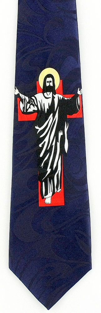 42 best christian religious easter images on pinterest easter come unto me mens necktie jesus christ cross christian religious gift tie new stevenharris negle Images