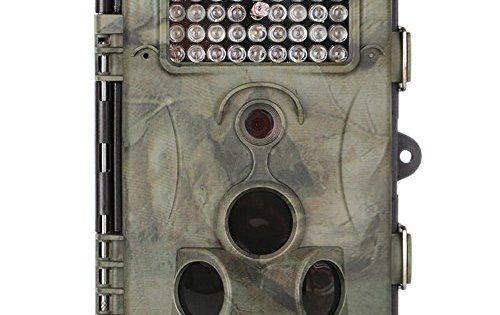 Caméras de Chasse, Crenova 12MP 1080P HD Caméra Sentier Sauvage de Chasse de Surveillance 120° Angle 20M Vision Nocturne Infrarouge…