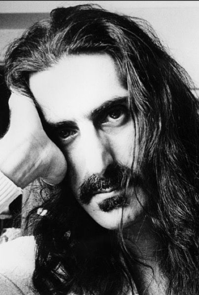 Frank Zappa photographed by Grant Goddard, 1970.