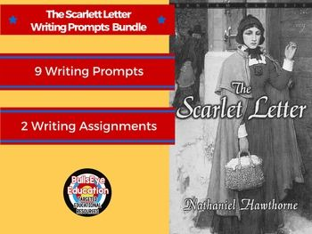 Research Proposal Essay Topics The Scarlet Letter By Nathaniel Hawthorne Bundle Includes Two Lessons With  Nine Total Writing Prompts The Prompts Are Cr  English Lit Lesson  Bundles  Persuasive Essays For High School also Essay On Health Care Reform The Scarlet Letter By Nathaniel Hawthorne Bundle Includes Two  How To Write An Essay Proposal Example