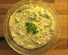 Rezept Käse Dip zum Überbacken (Raclette, Gratin) von Carini21 - Rezept der Kategorie Saucen/Dips/Brotaufstriche