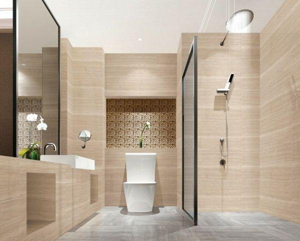 die 46 besten bilder zu badeinteilung auf pinterest | badezimmer ... - Badgestaltung Fliesen Beispiele