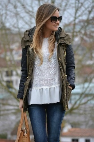 17 Best images about Army Green Jacket Style on Pinterest ...
