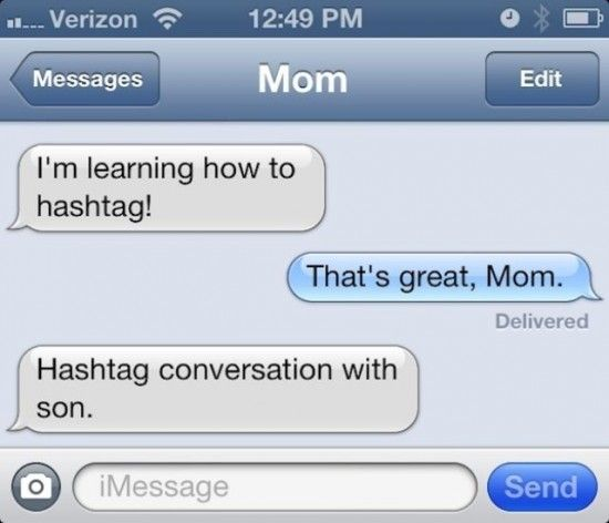 10 Funny Text Messages From Parents - NoWayGirl