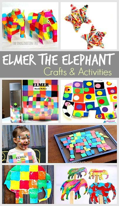 15 Elmer the Elephant Activities for Kids- art, sensory play and more!