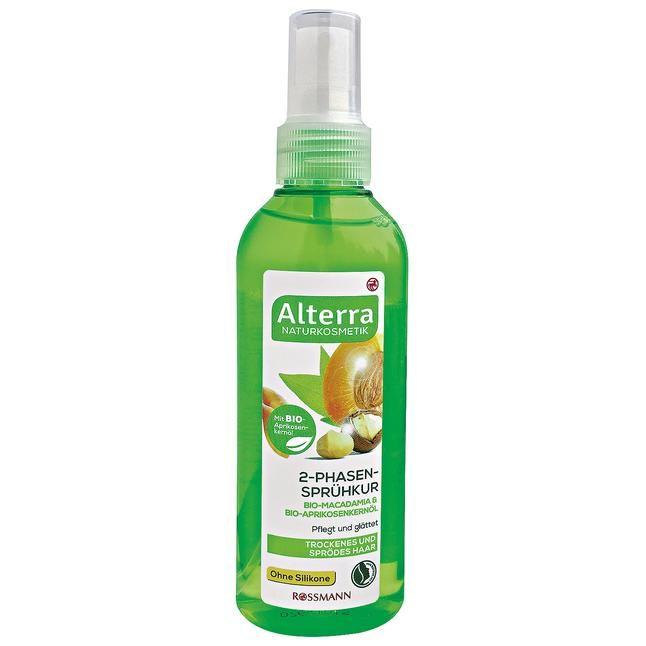 für trockenes & sprödes Haar, Bio-Macadamia & Bio-Aprikosenkernöl, pflegt & glättet, ohne Silikone, zertifizierte Naturkosmetik, vegan