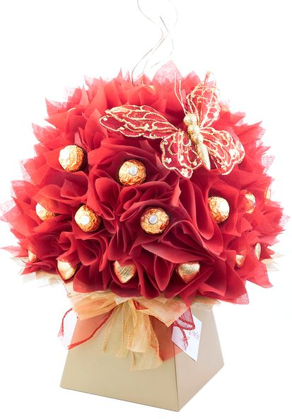 Love handmade gifts? Love chocolate? Love to discover something new? . . . Then you will love this Red Camellia Chocolate Bouquet by The Chocolate Florist! Visit www.thechocolateflorist.co.uk to find out more about us.