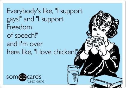 chick fil aChic Fil A, Chik Fil A, So True, Funny Stuff, Waffles Fries, Chicks Fil A, Ecards, Totally Me, Chicken Sandwich