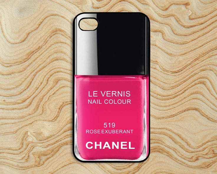 Nail Polish On Plastic Phone Case Iphone 5 - Creative Touch