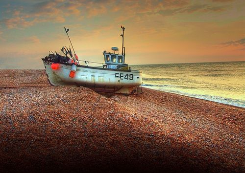 Dungeness Boat FE49