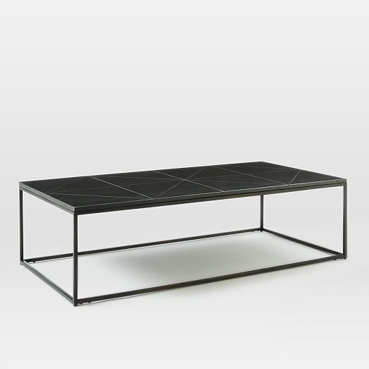 Etched Granite Coffee Table | west elm