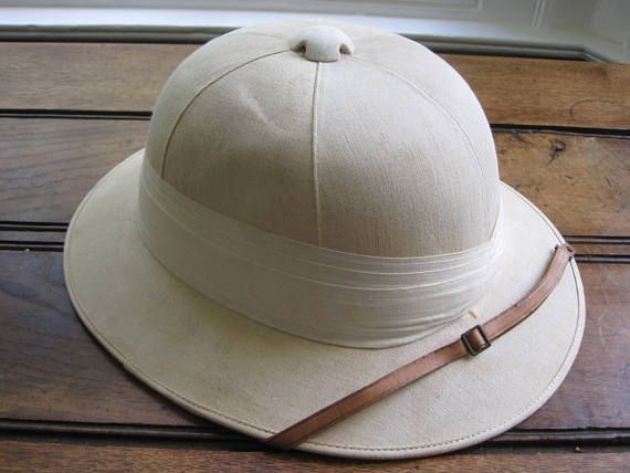 A Tropical Pith/Safari Helmet Dated 1933