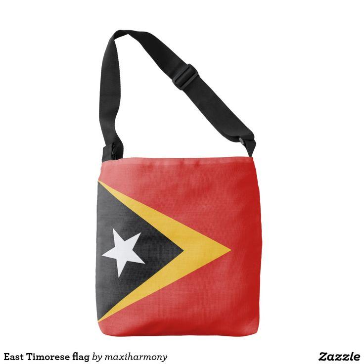 East Timorese flag Tote Bag