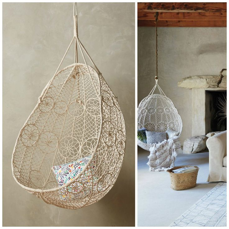 Knotted Melati Hanging Chair U2014 Where To Buy