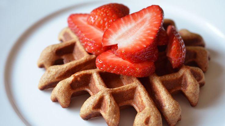 Nom Nom Paleo Makes The Paleo Parents' Waffles. - apple, banana, almond butter - good for freezing
