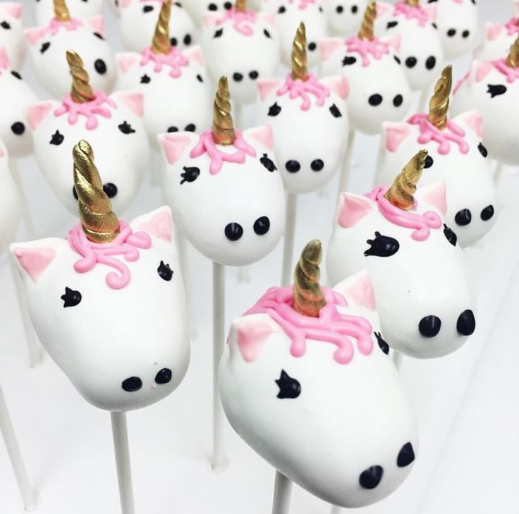 The cutest cake pops ever