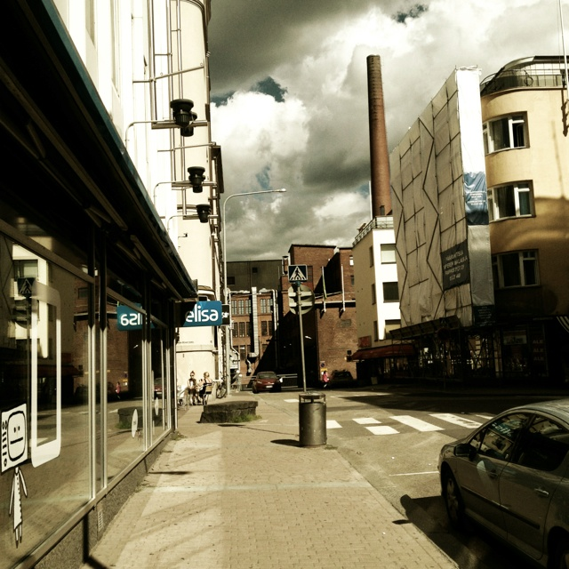Downtown Tampere, Hallituskatu.
