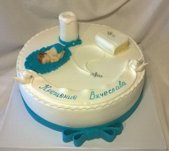Крестильный тортик
