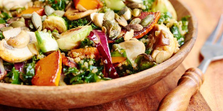 I Quit Sugar - Simple Pumpkin Winter Salad