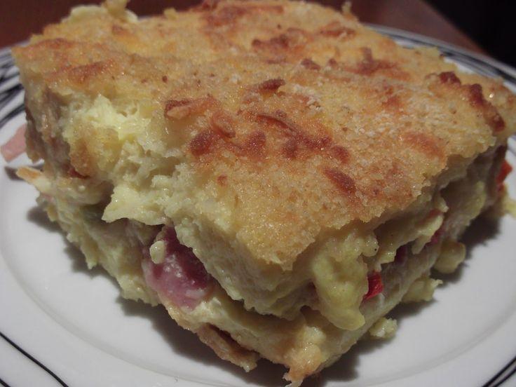 Olga's cuisine...και καλή σας όρεξη!!!: Σουφλέ με ψωμί του τοστ!!!