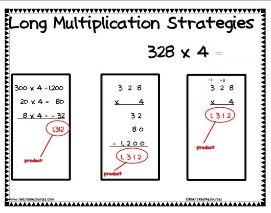 Multiple Strategies Poster for Solving Extended Operations