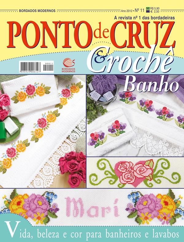 Ponto de Cruz & Crochê Banho nº 11