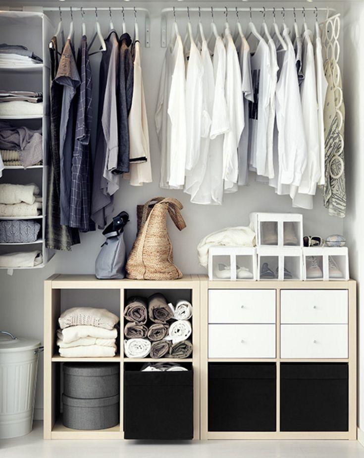 Las 25 mejores ideas sobre armarios abiertos en pinterest for Armarios pequenos baratos