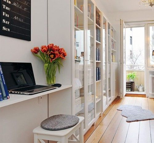 30 Scandinavian-Inspired Ideas For Compact Home Offices | Shelterness