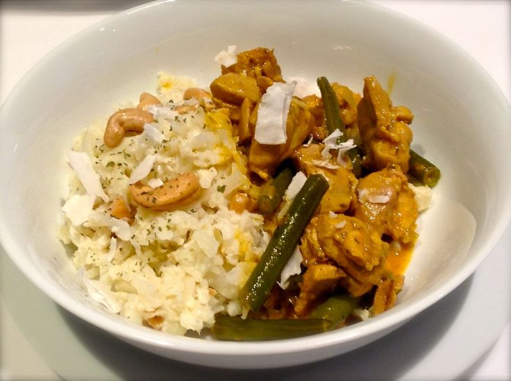 Low Carb Chicken Curry