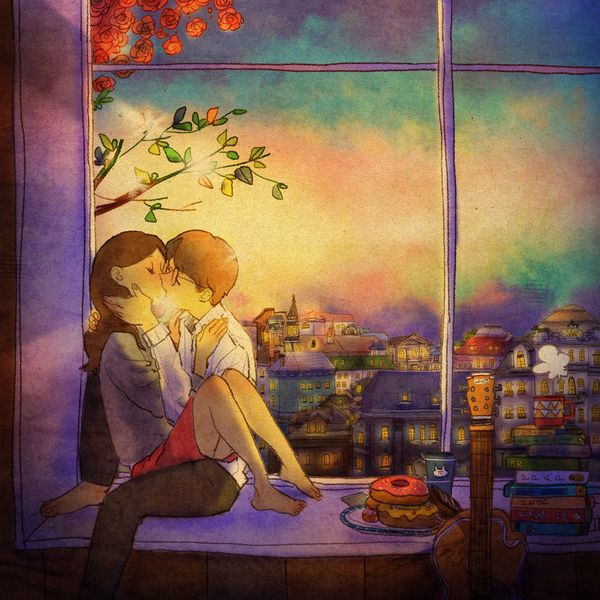 Love couple Drawing Wallpaper : Les 18 meilleures images ? propos de couple sur Pinterest Amour noir, El amor es et Amor