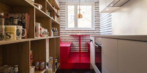 Dit kleine appartement in Londen is super slim verbouwd
