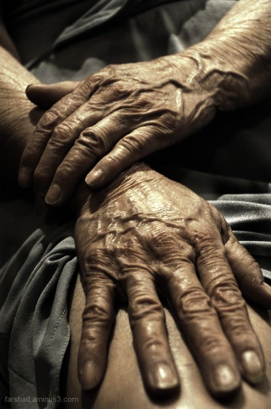 grandmothers - i miss those wrinkly hands!