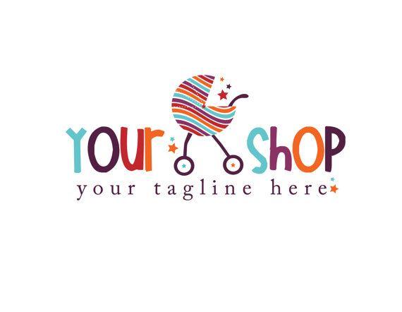 Photography Logo Premade Baby Shop Boutique di KayleeBugDesign, $40.00