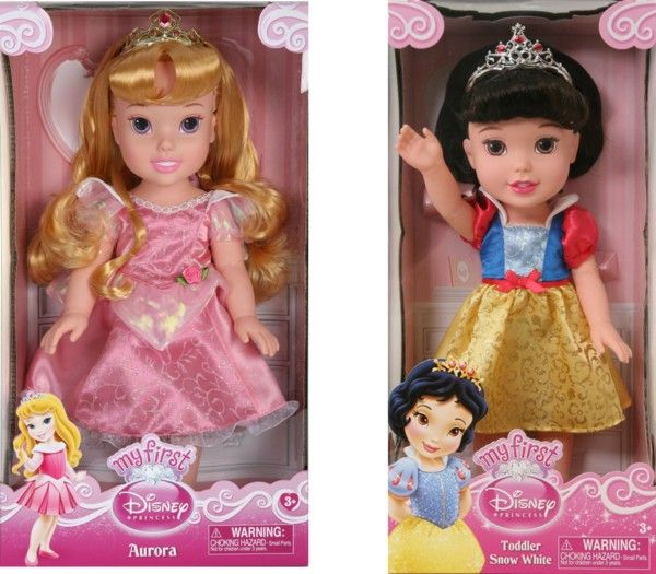 Snag this My First Disney Princess Aurora Toddler Doll  for only $11.27 (reg. $25.99 !) OR this Snow White Toddler Doll for only $18.73 (reg. $22.99!).