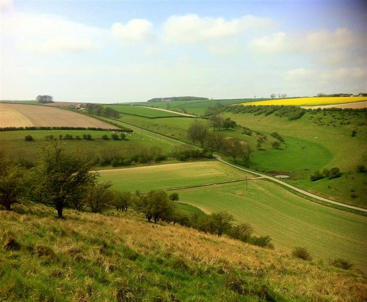 View up Fotherdale in the Yorkshire Wolds http://www.yorkshirenet.co.uk/yorkshire-east/east-yorkshire-accommodation.aspx